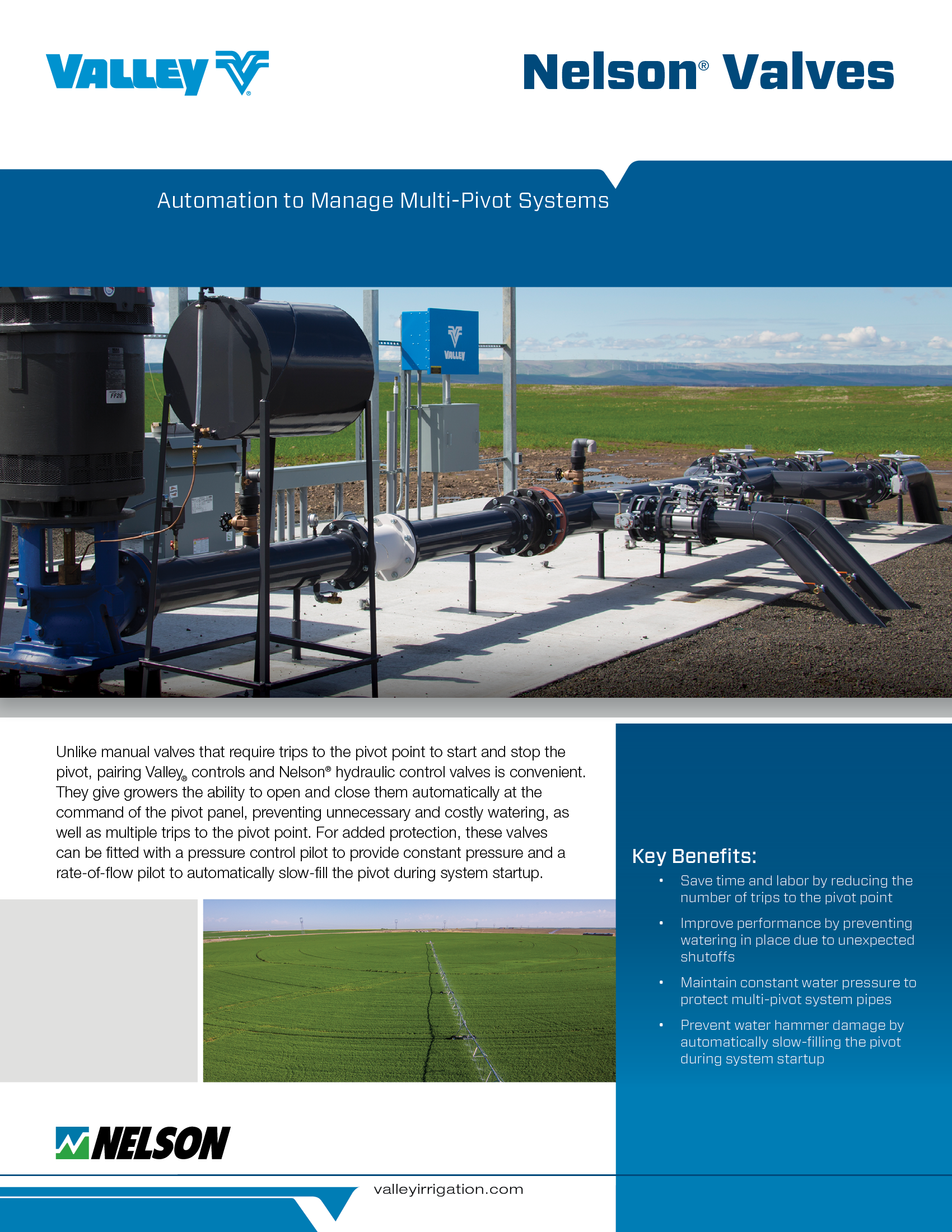 valley pumping solutions brochure cover