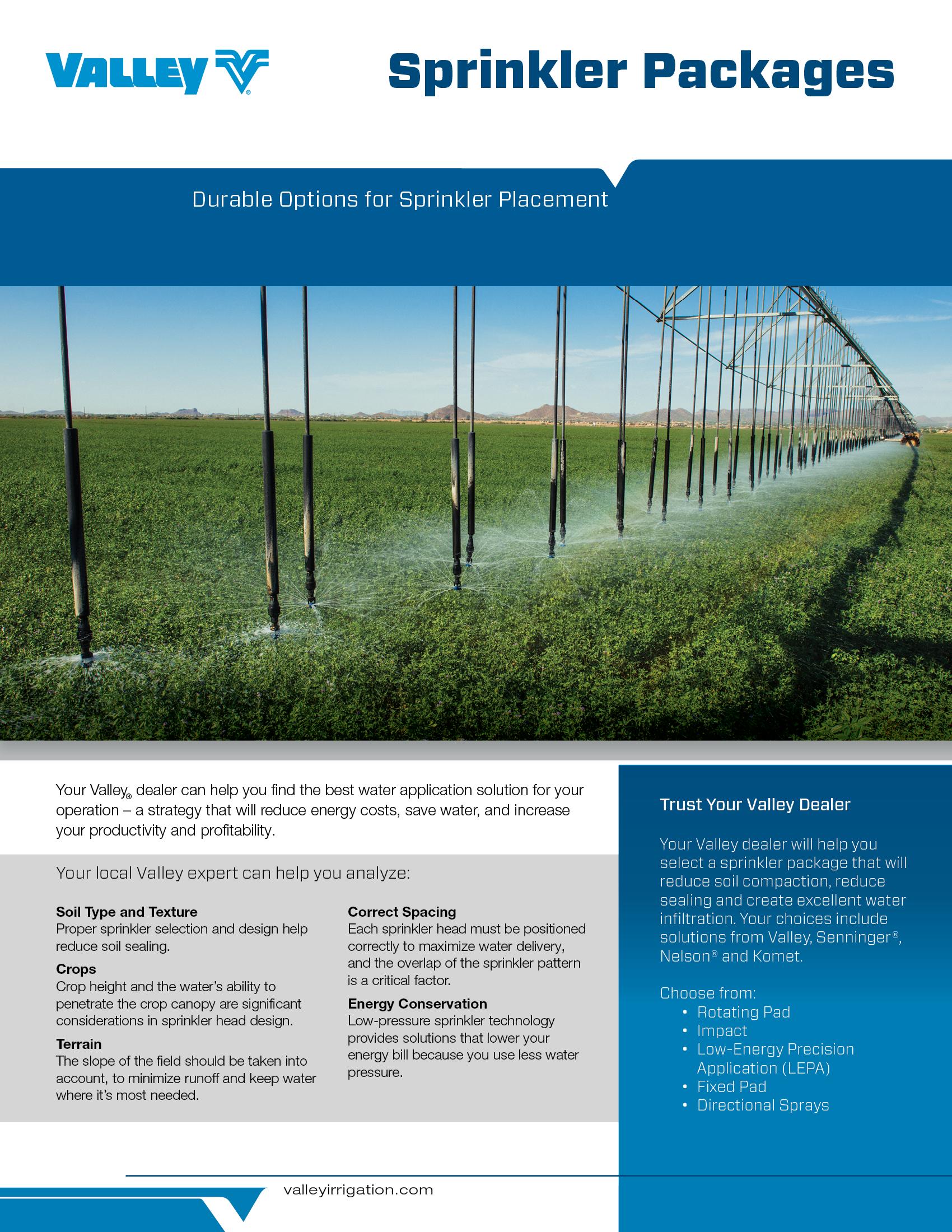 Nelson Irrigation - Center Pivot Sprinklers | Valley
