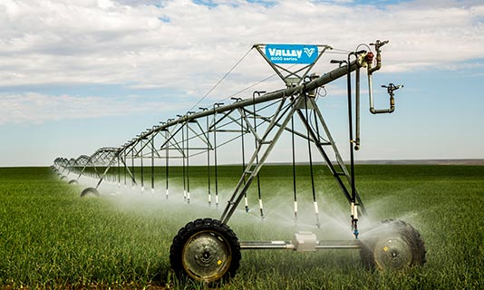 Valley Irrigation Linear Photo