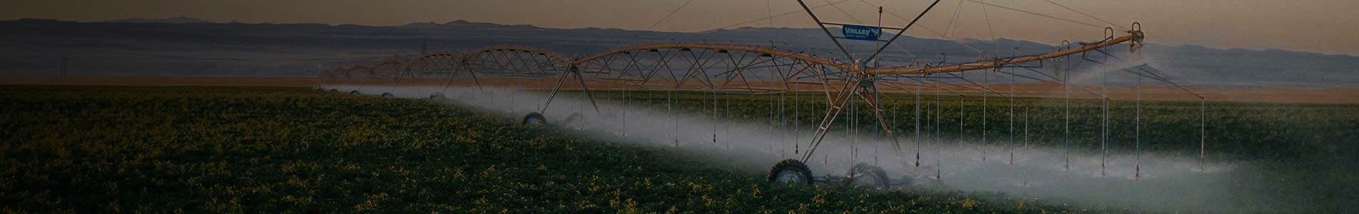 valley center pivot irrigation