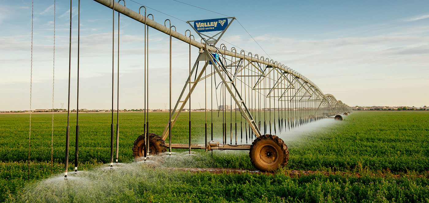 Center Pivot Precision Irrigation Equipment Valley