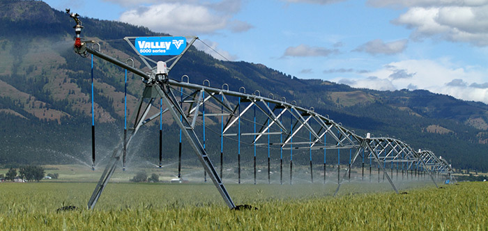 valley 5000 series center pivot irrigation system