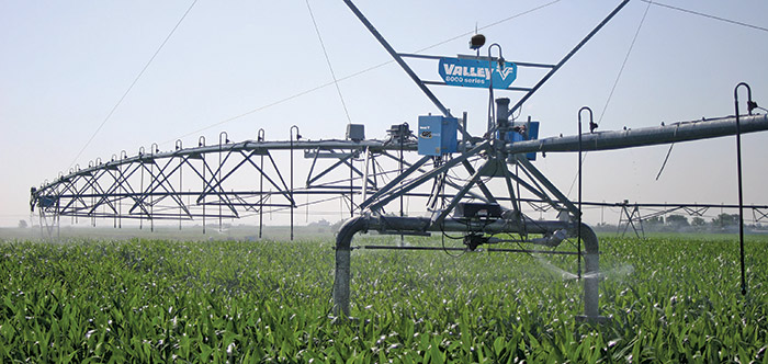 valley gps guidance for center pivot and corner irrigation systems