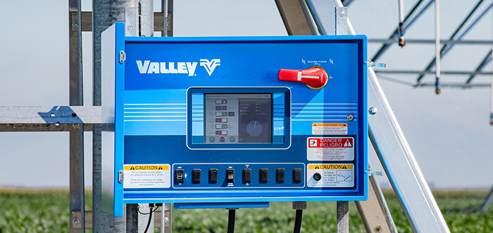 valley icon10 smart panel for center pivot irrigation system