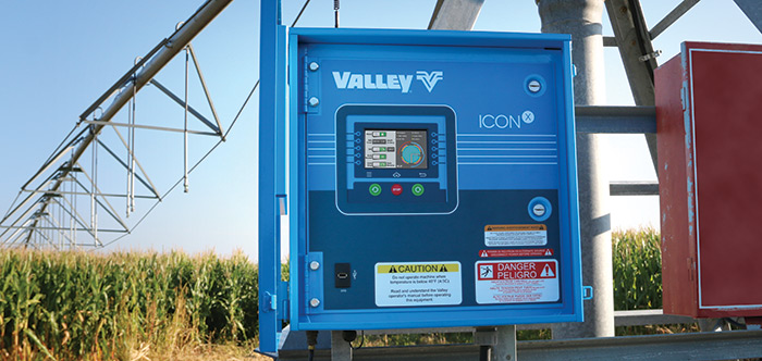 valley iconx smart panel for center pivot irrigation system
