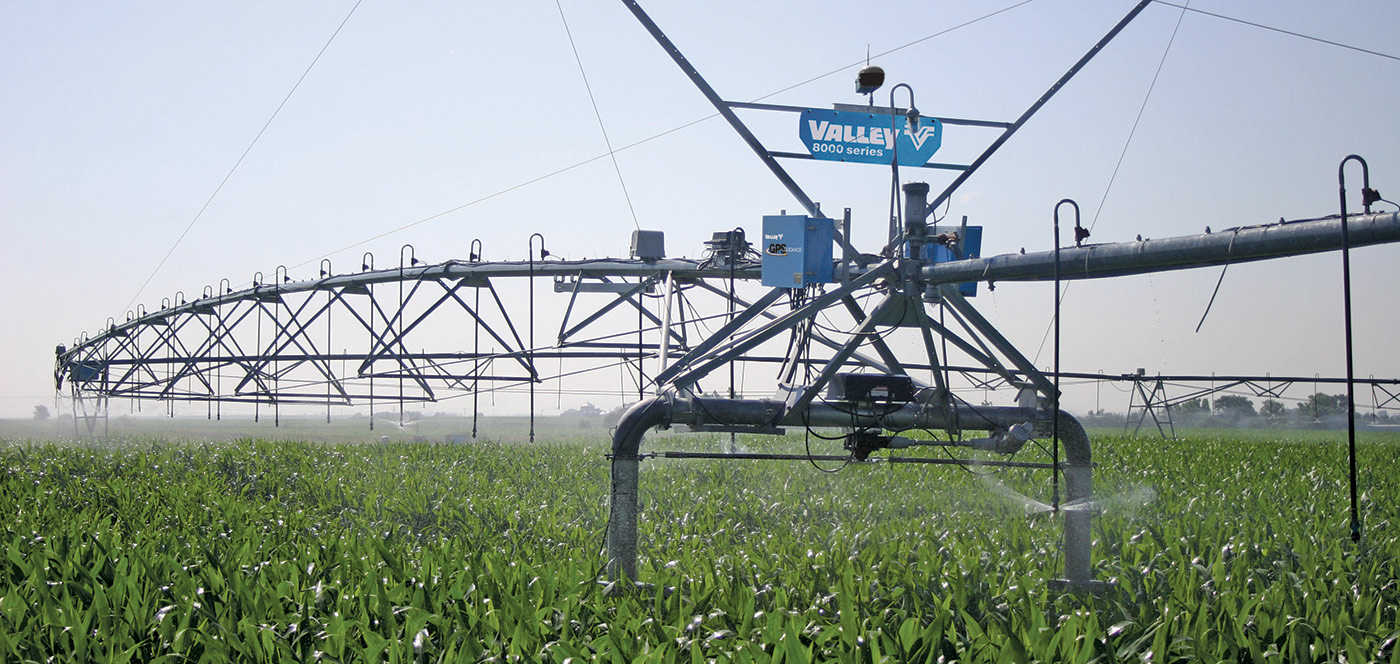 valley gps guidance for center pivot irrigation and corner irrigation