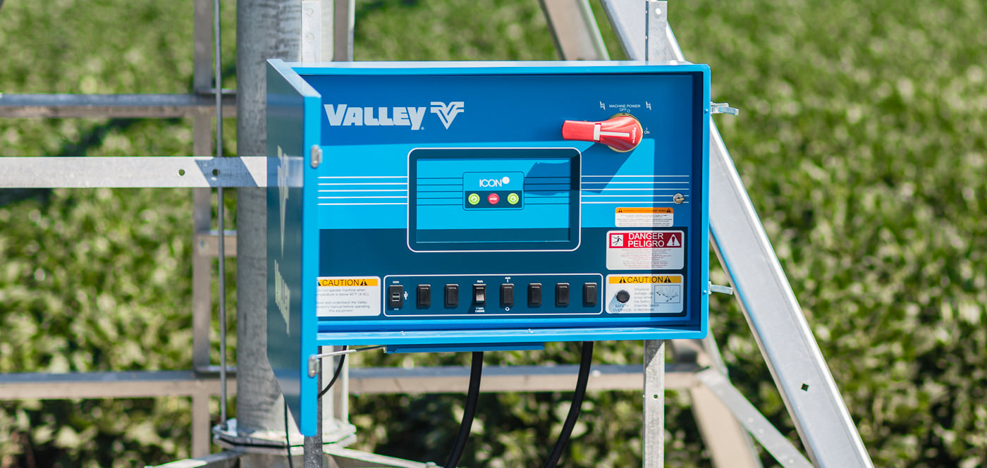 valley icon1 smart panel for center pivot irrigation system