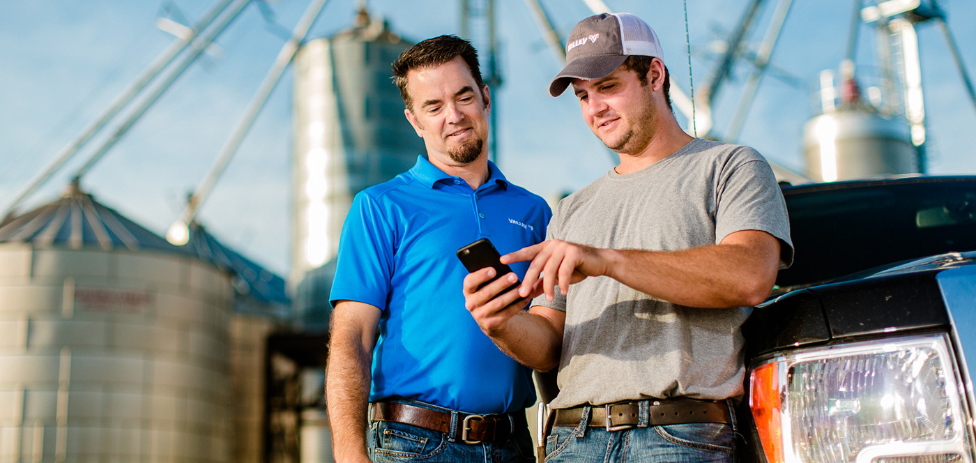 valley remote management solutions for center pivot irrigation