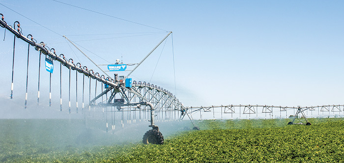 irrigate-iq uniform corner irrigation