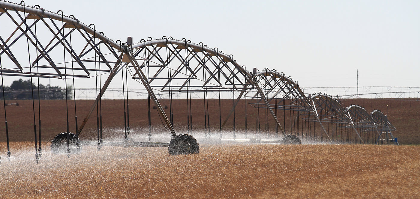 komet sprinklers for center pivot irrigation