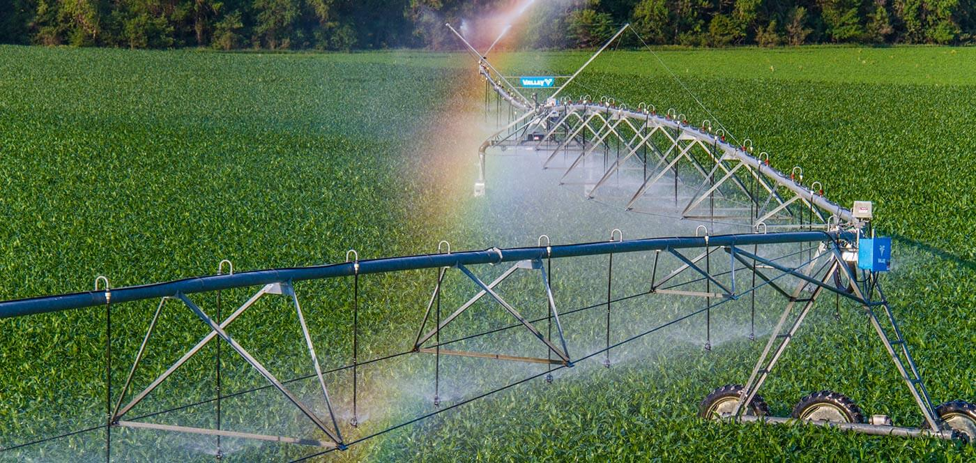 valley precision corner irrigation
