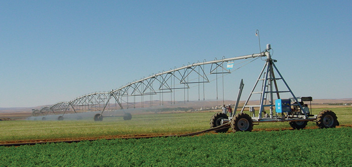 valley universal linear irrigation machine