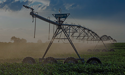 valley irrigation solutions - center pivots