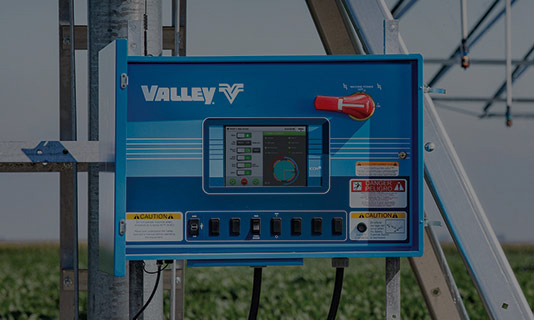 valley icon10 smart panel for center pivot irrigation control