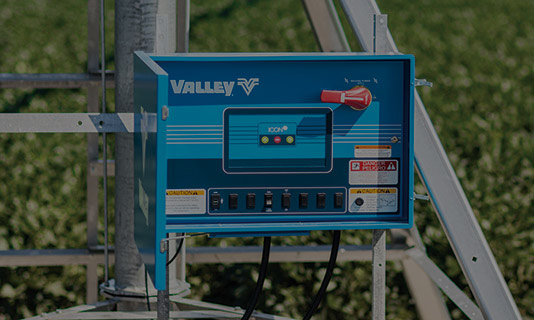 valley icon1 smart panel for center pivot irrigation control