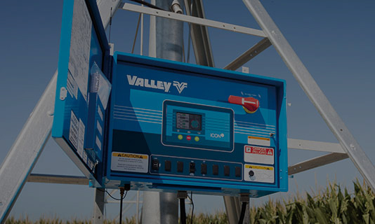 valley icon5 smart panel for center pivot irrigation control