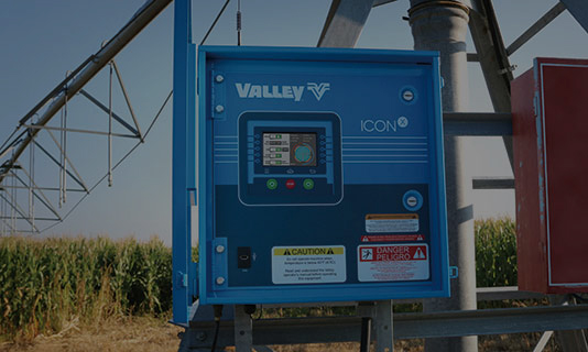 valley iconx smart panel for center pivot irrigation control