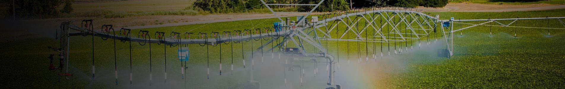 trimble irrigate-iq uniform corner - water application management solution