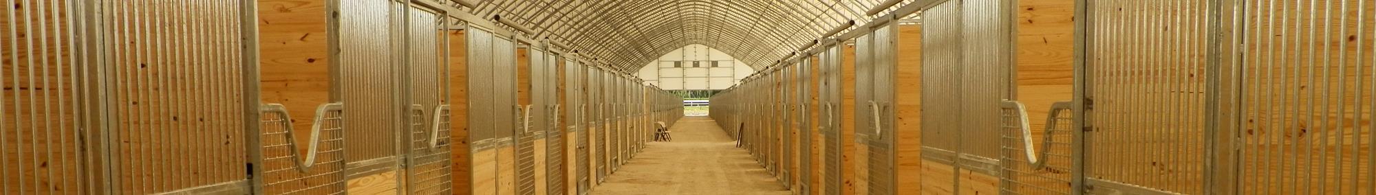 Galvanized Horse Stalls Florida