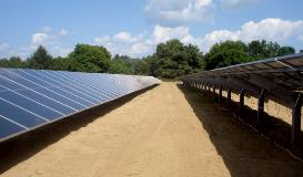 Galvanized Solar Farm