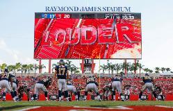 Tampa Galvanizing Tampa Bay Buccaneers Video Display Board