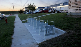 West Point Galvanizing Zipline Brewing Bike Rack