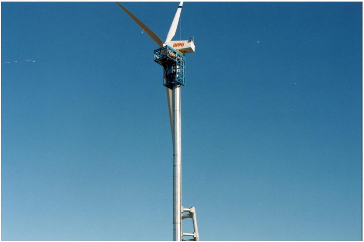 Galvanized Wind Turbine Nebraska