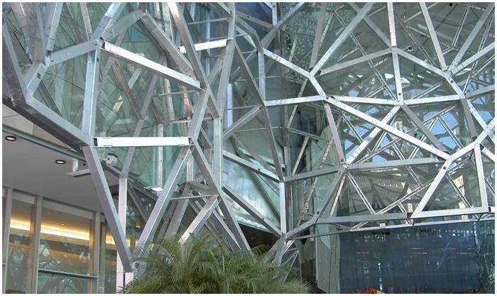 Galvanizing Building Structure Framework Australia