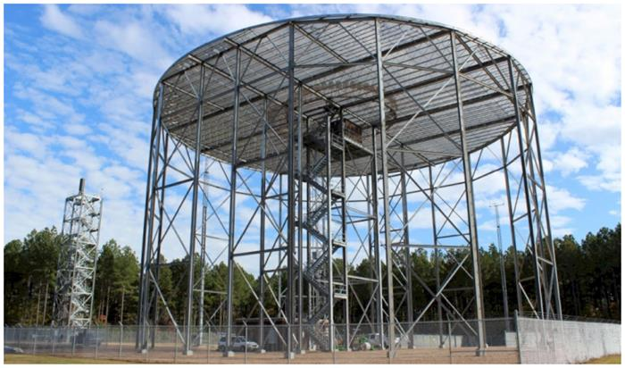 Galvanized Doppler Towers Mississippi