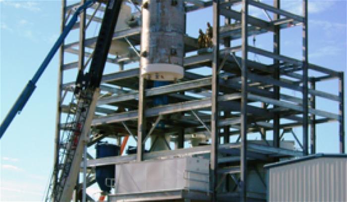Castlerock Biodiesel Feedstock Plant Galvanized Steel
