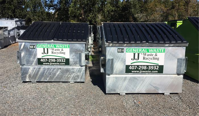 Galvanized Waste and Recycling Dumpsters OEM