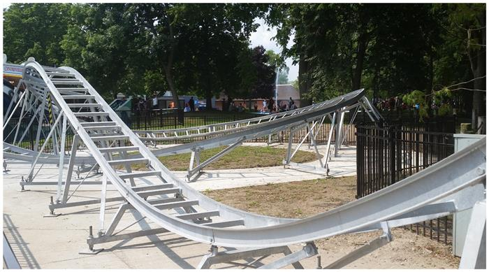 Amusement Park Galvanized Steel