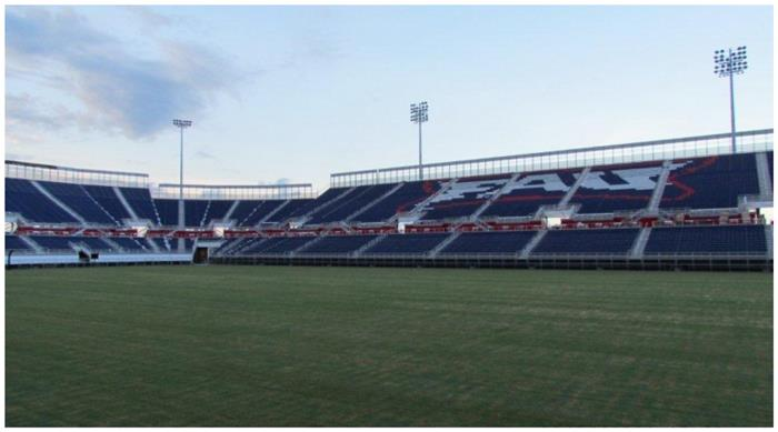 Florida Atlantic University Football Stadium Galvanized Steel