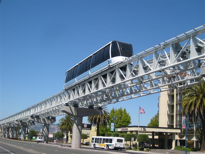 Galvanized Transit System California