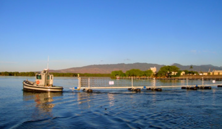 Pearl Harbor Mooring & Waterfront Port Barrier Galvanizing