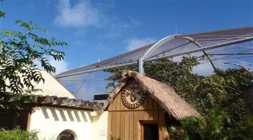 Bermuda Aquarium and Zoo Galvanized Steel