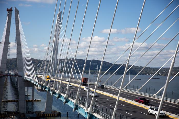 Mario M Cuomo Bridge Galvanizing