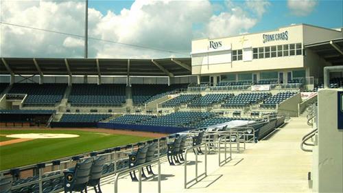 Tampa Rays Spring Training Center Galvanizing