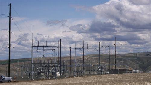 Galvanized Substation Oregon