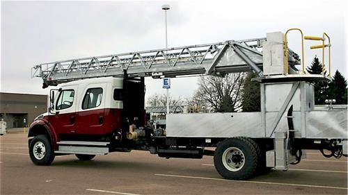 Galvanized Rosenbauer Ladder Nebraska