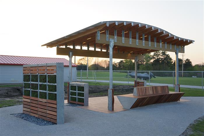 Galvanized Shade Structure Nebraska