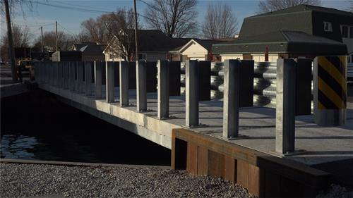Galvanized Steel Bridge Girders