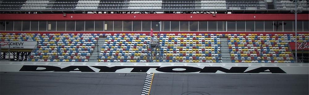 Daytona Grandstands Banner