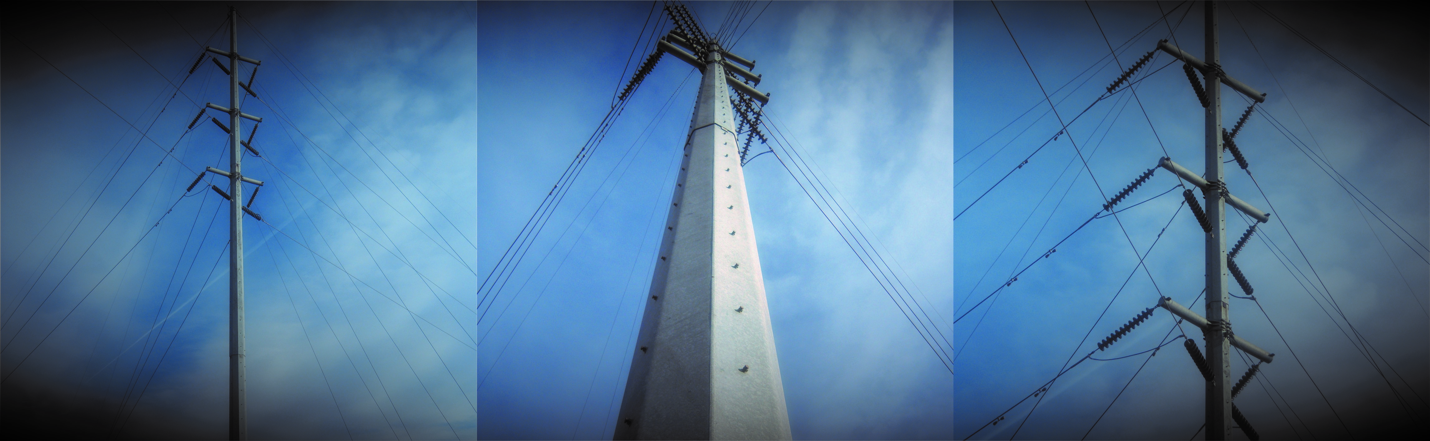 Galvanized Transmission Tower