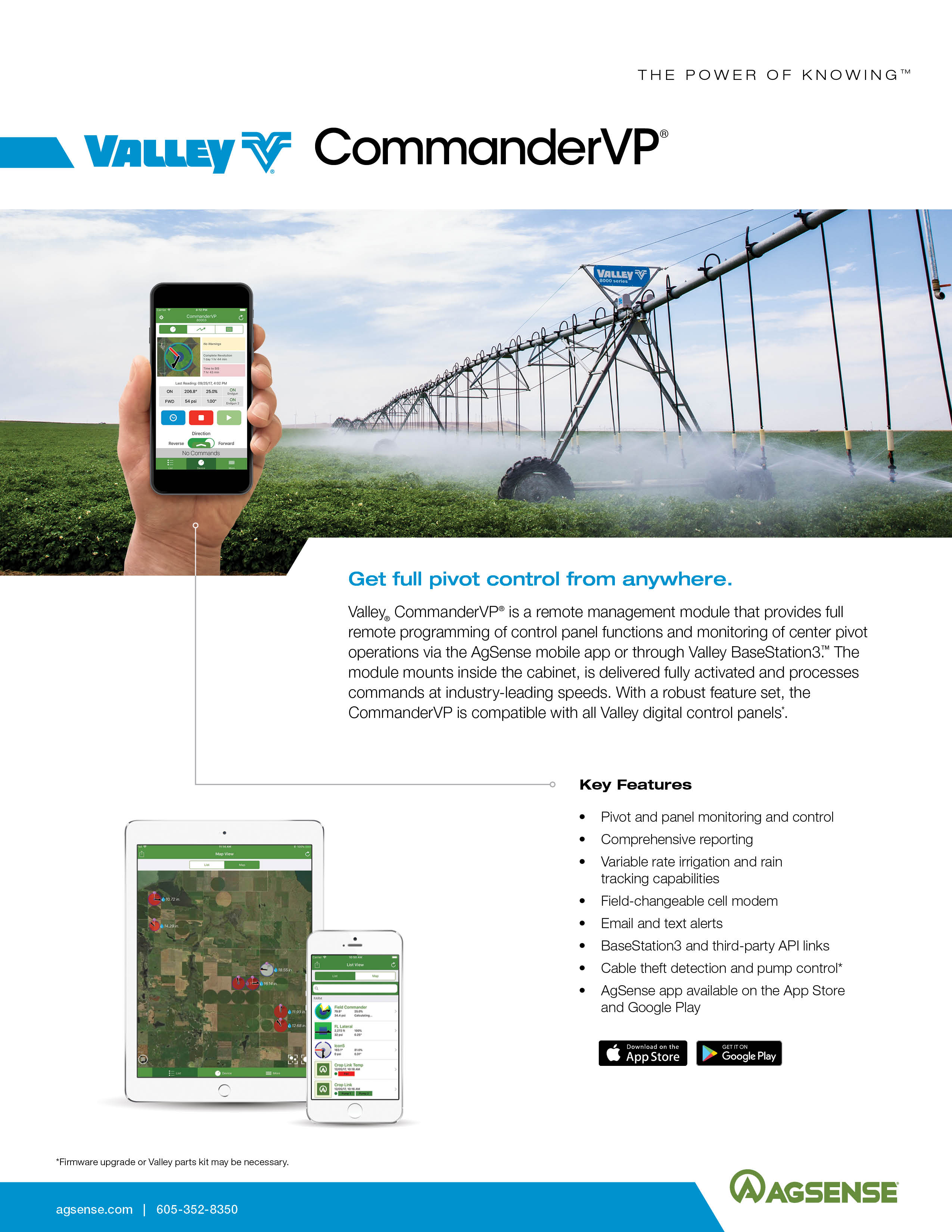 agsense commandervp brochure