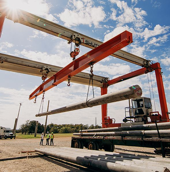 Protective Concrete Poles : Spun concrete poles