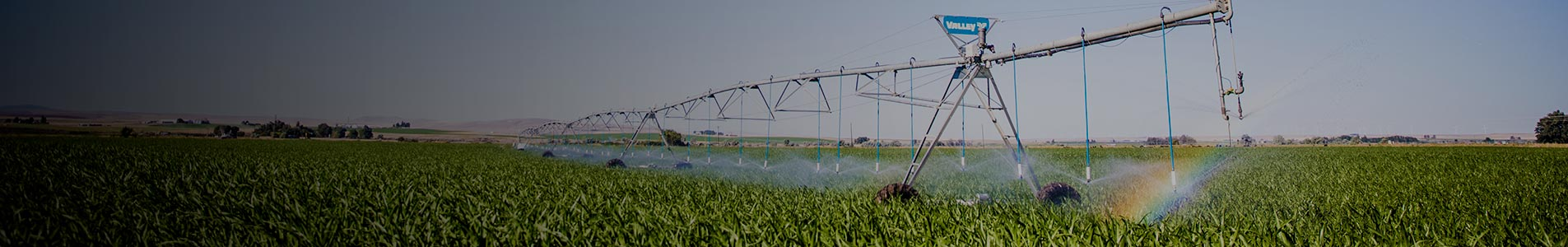 valley variable rate irrigation zone control - water application management solution