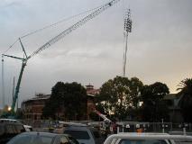 Bob Jane Stadium - Lakeside Stadium - Sports Lighting - Floodlighting Poles