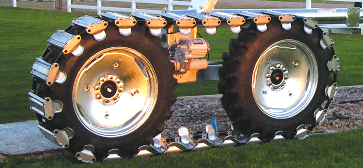 Valley Articulating Track Drive