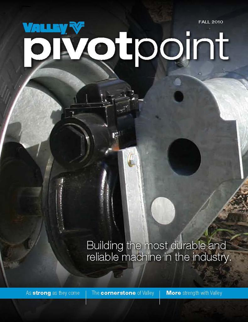Valley PivotPoint Newsletter Fall 2010
